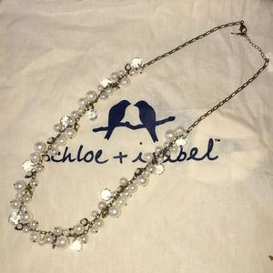 Chloe + Isabel Jewelry - Chloe+Isabel Pearl + Crystal Drops Long Necklace